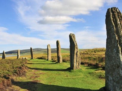 Stones of Stenness Orkney  United Kingdom