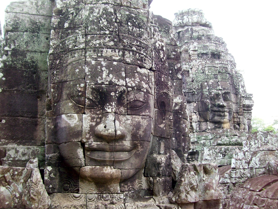 The Ancient Faces of Angkor Thom Siem Reap  Cambodia