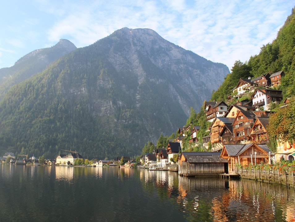 Peace and Quiet in Austria Hallstatt  Austria