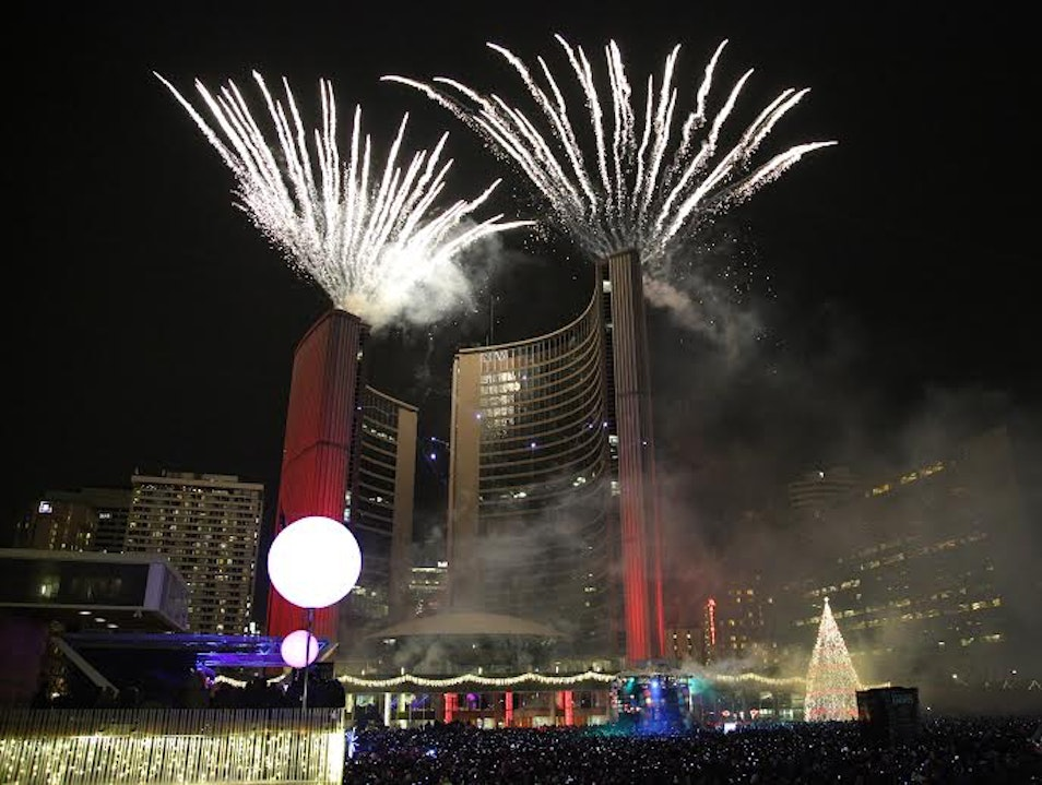 Toronto Cavalcade of Lights  Toronto  Canada