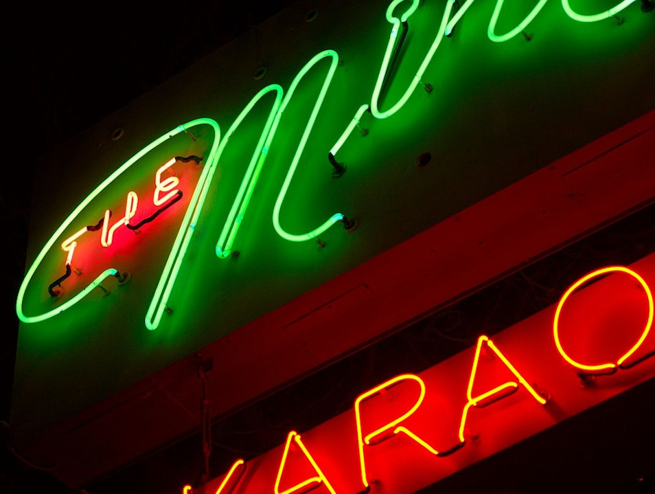 Head to the Castro for a Night at the Mint Karaoke Lounge