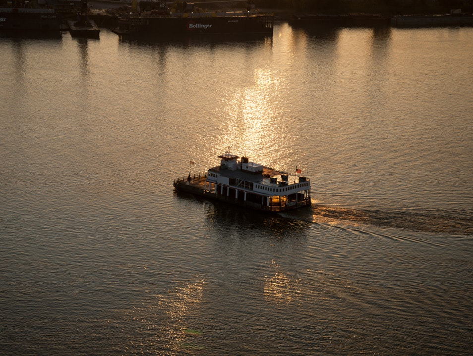 Roll Across the Mississippi River to Algiers Point