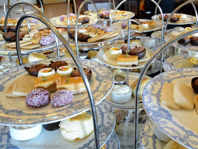 Afternoon Tea At Fairmont Empress Hotel