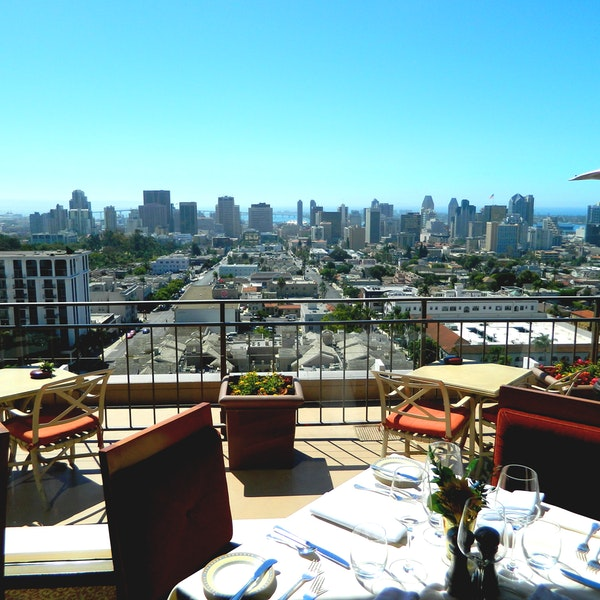 Dining with the best views in san diego afar for Epic motors san diego