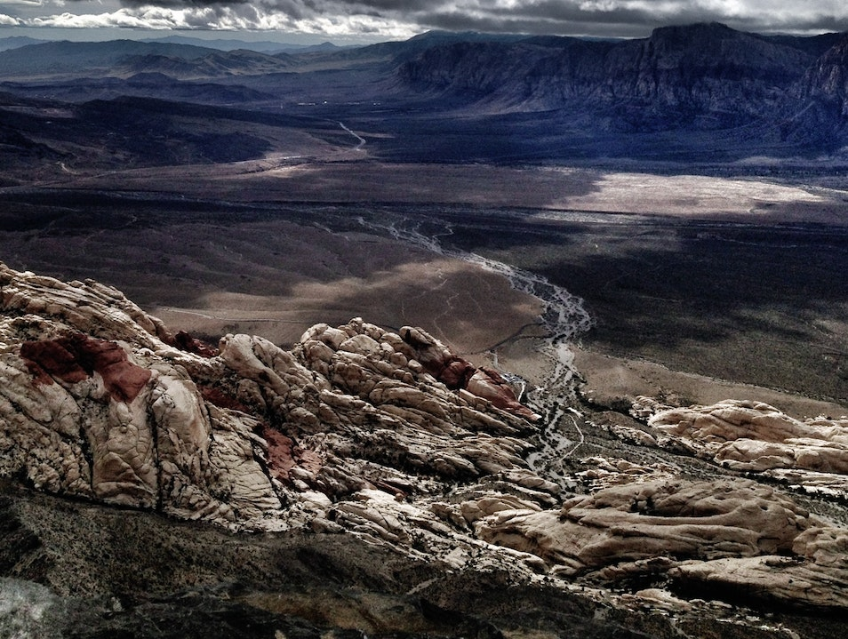 Red Rock Canyon from the Top of Turtlehead Peak Henderson Nevada United States
