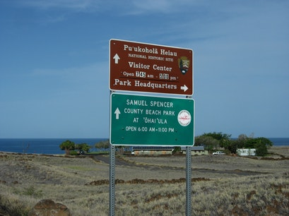 Pu'ukohola Heiau National Historic Site Waimea Hawaii United States