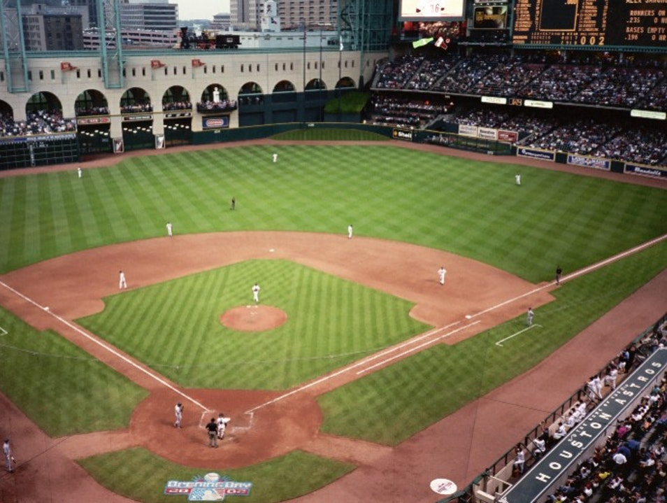 Catch an Astros Game at Minute Maid Park Houston Texas United States