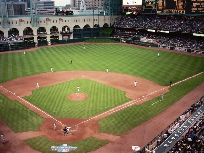 Catch an Astros Game at Minute Maid Park