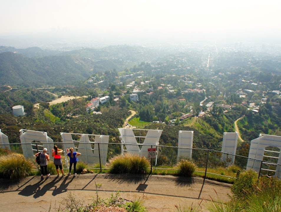 Hike to the Hollywood Sign Los Angeles California United States