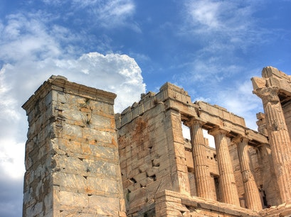 Propylaea Athens  Greece