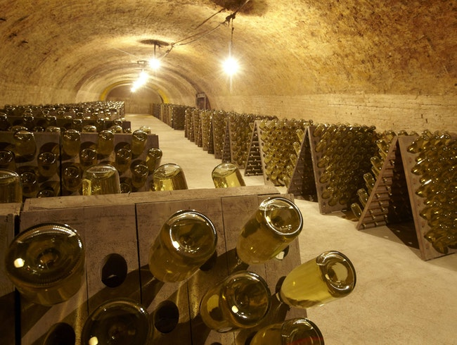 Schlumberger – Austria's Royalty of Sekt