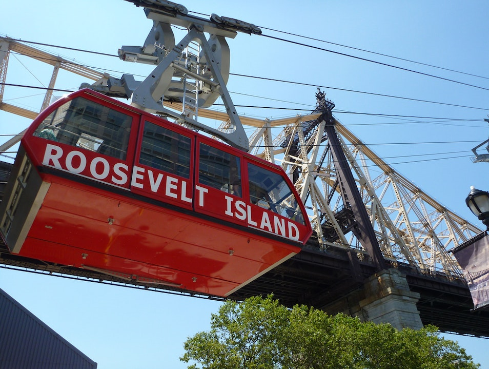 The Island Tram New York New York United States