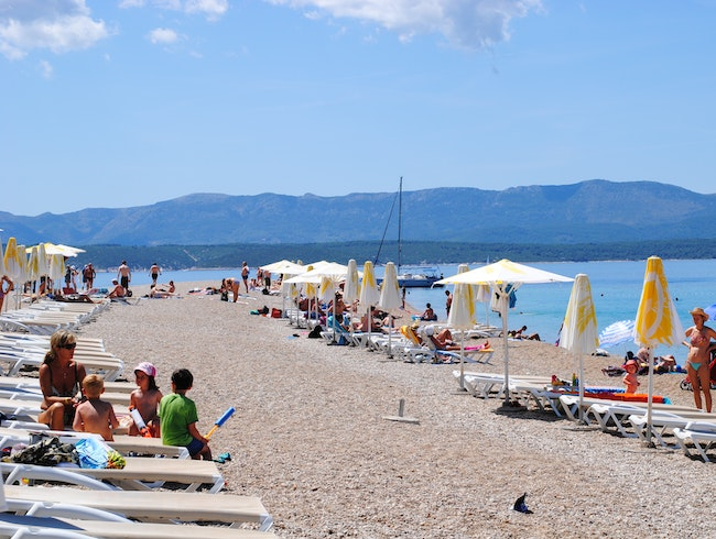 The Most-Photographed Beach on Brac Island