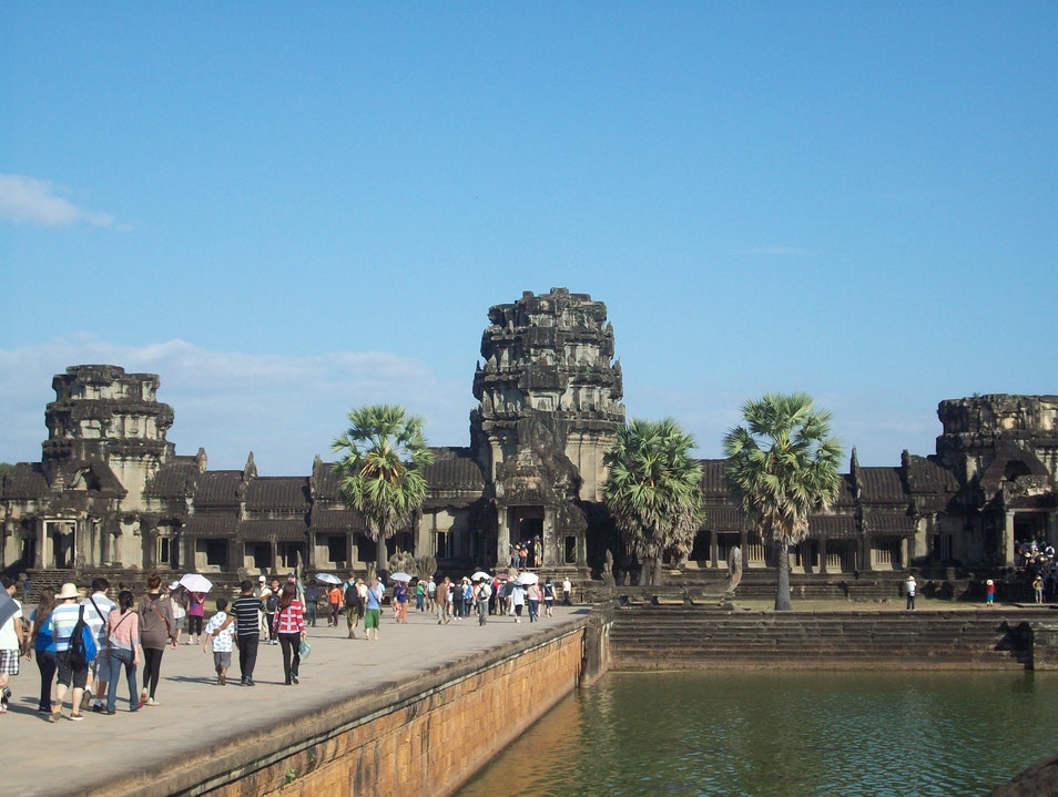 Angkor Wat in less than a day Siem Reap  Cambodia