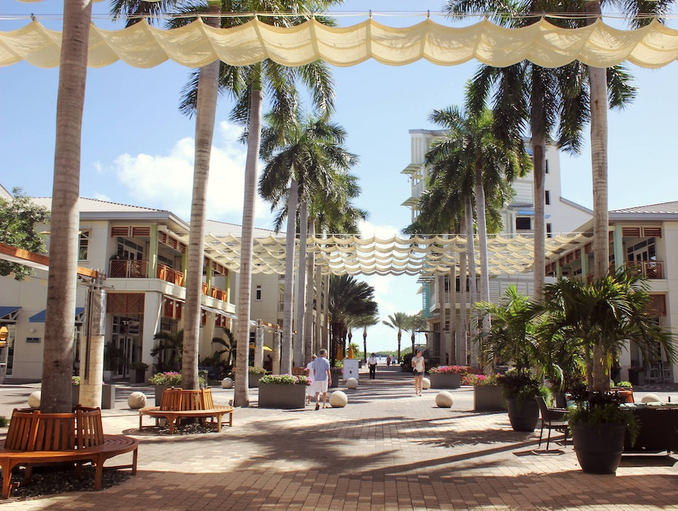 Shop Till You Drop in Camana Bay George Town  Cayman Islands