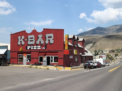 K-Bar Pizza Gardiner Montana United States