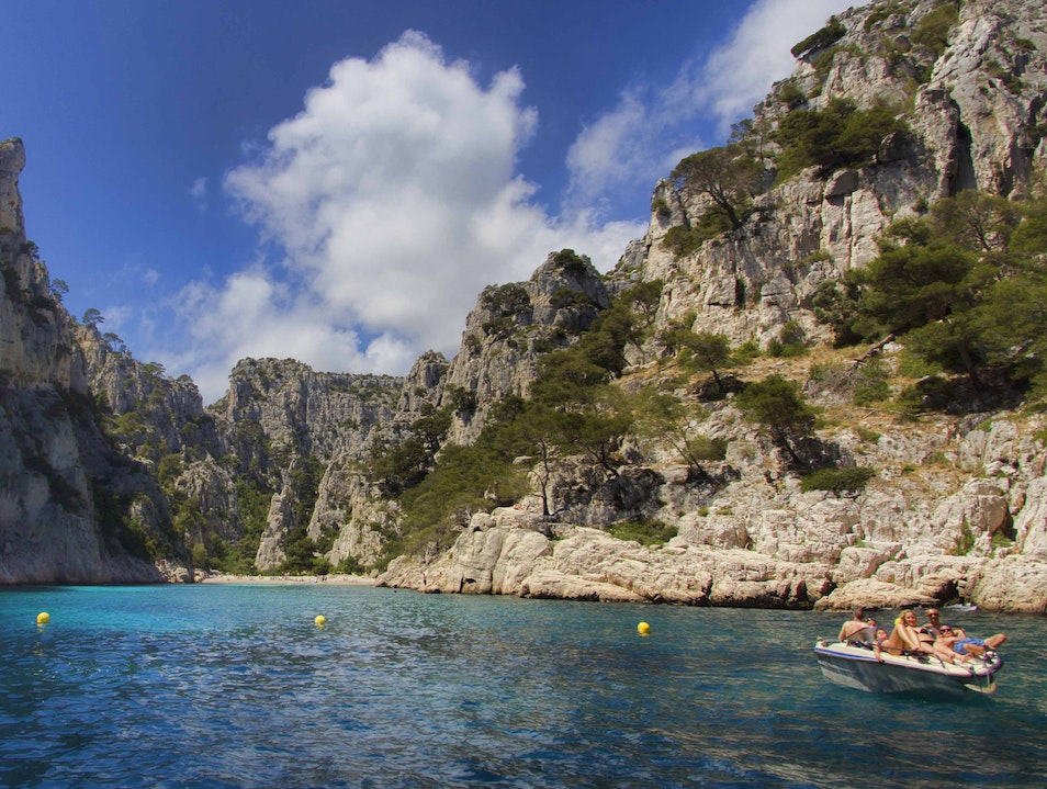 Calanques Boat Tour in Cassis, France Cassis  France