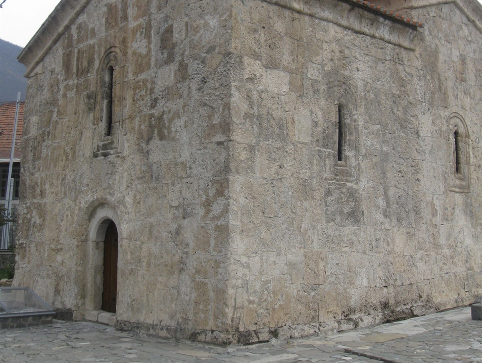 The World's Oldest Church?  Sheki  Azerbaijan