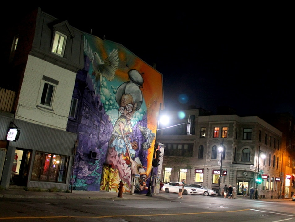 Touring the Best Street Art in Montreal Montreal  Canada