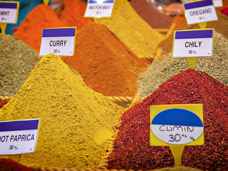 Spice Market Culinary Souvenirs Istanbul  Turkey