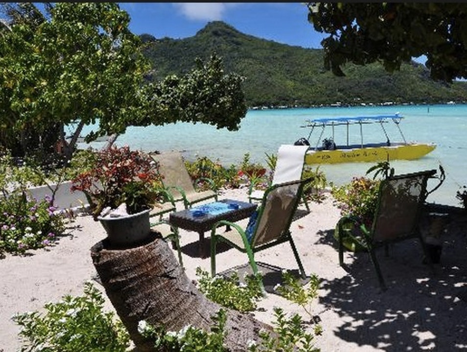 Maupiti's Swankiest Digs: Pension Poe Iti Vai'ea  French Polynesia