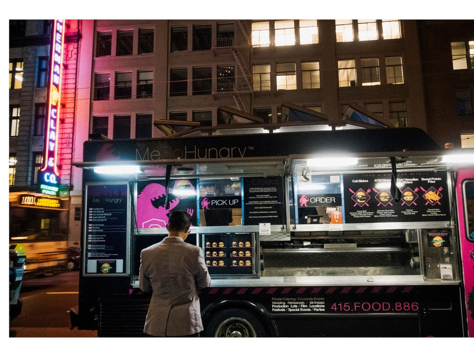 Me So Hungry Food Truck San Francisco California United States