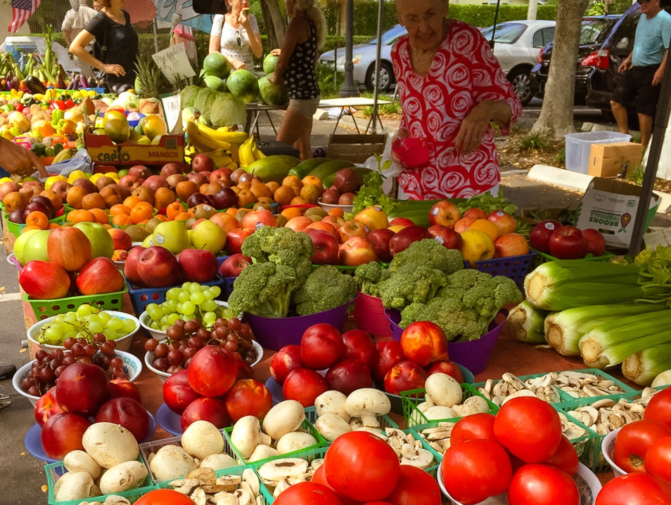 Third Street South Farmer's Market Naples Florida United States