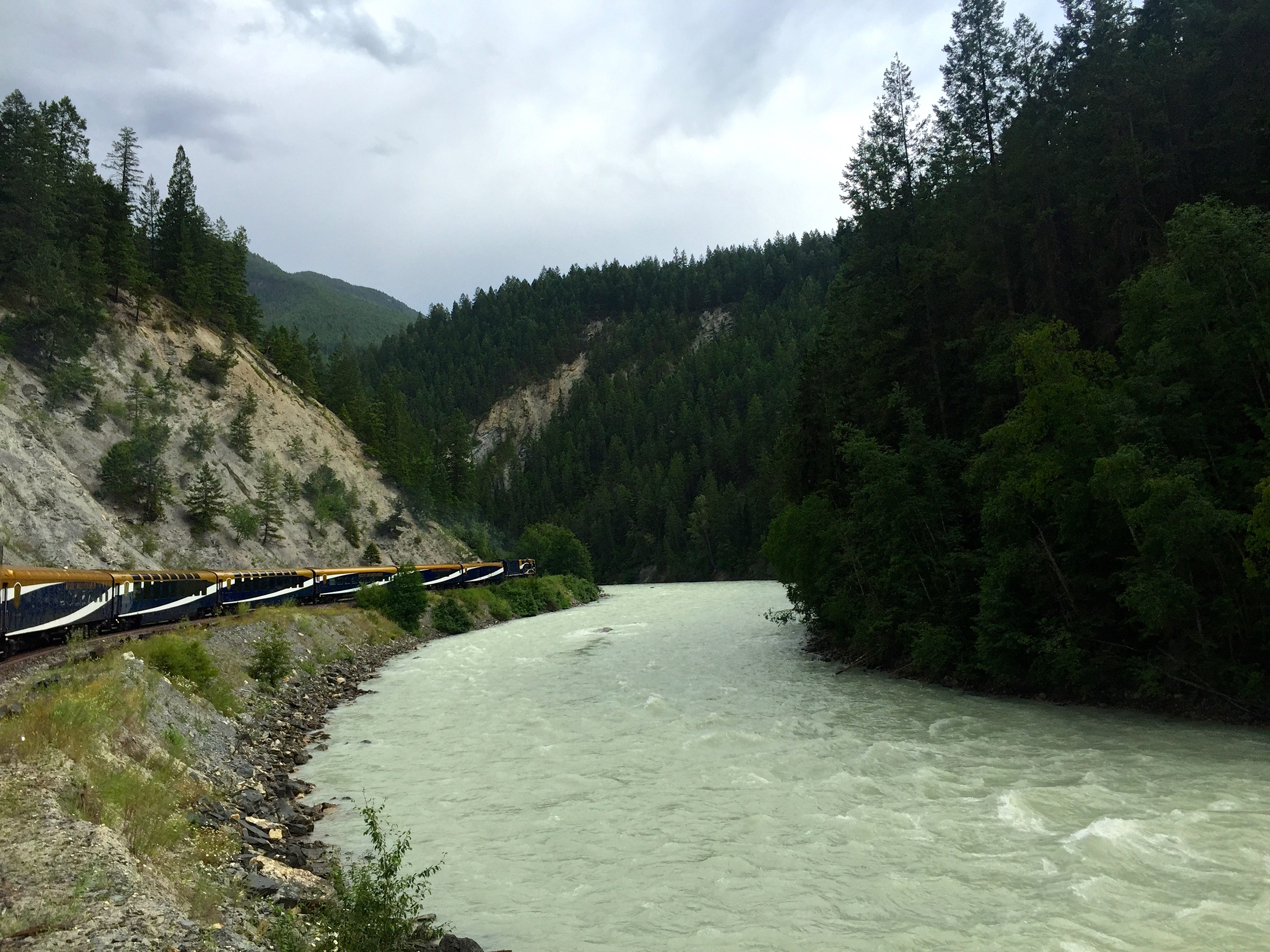 Passage to the West, Vancouver to Banff by Rail