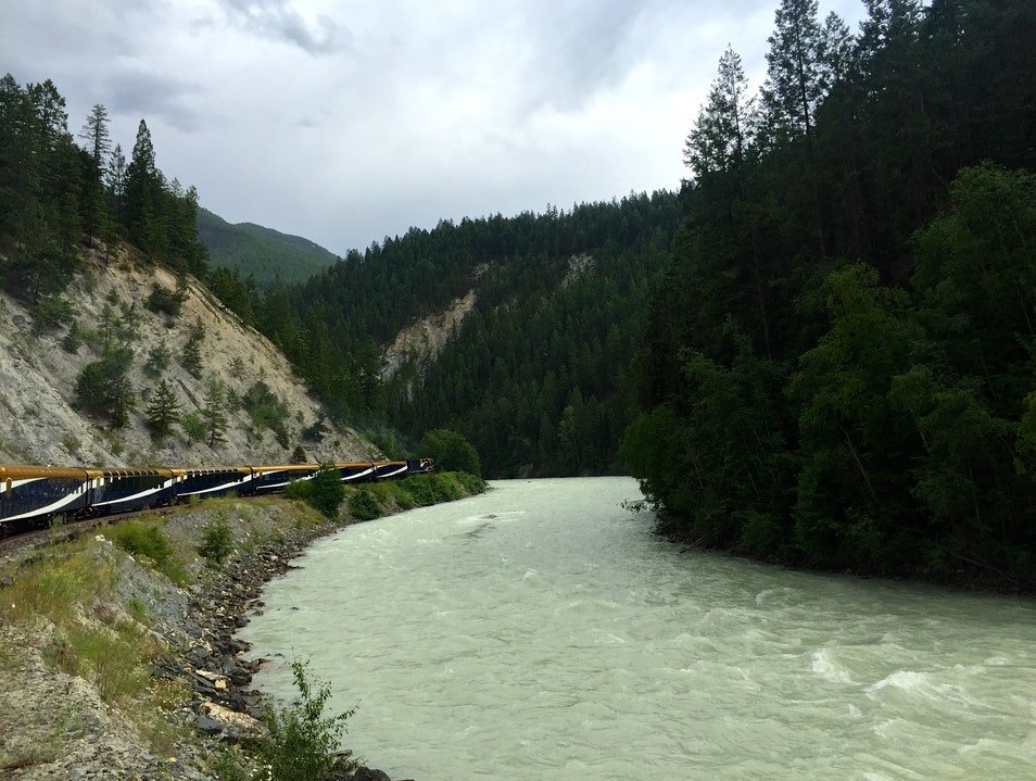 Passage to the West, Vancouver to Banff by Rail Vancouver  Canada