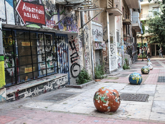 Exarcheia, an Artsy Insight into Athens