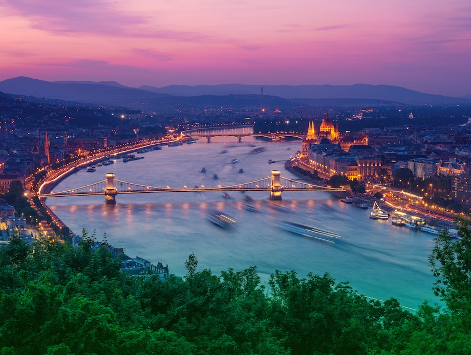 Best Sunset Views in Budapest