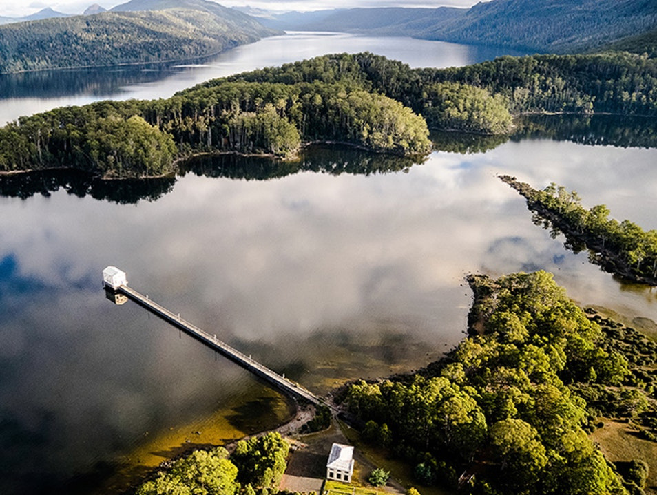 Pumphouse Point Lake Saint Clair  Australia