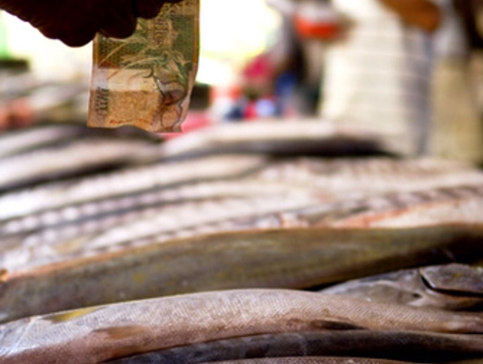 Shop for fish in Seychelles
