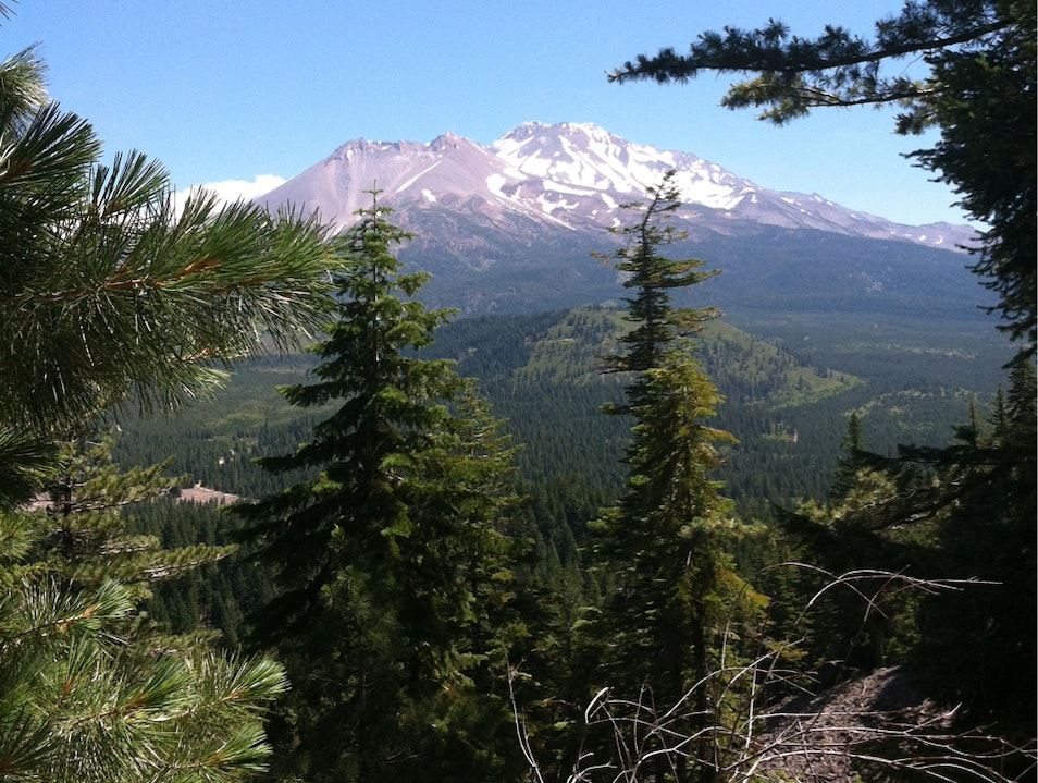 Black Butte Trail Mt Shasta California United States