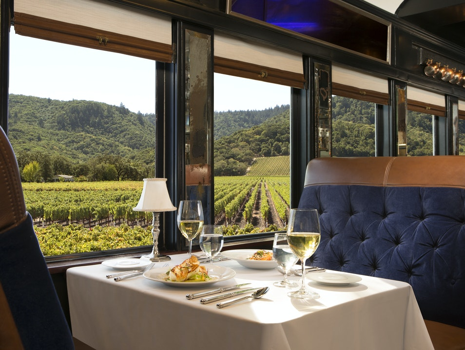 All aboard for a one-of-a-kind trip through Napa Valley Napa California United States