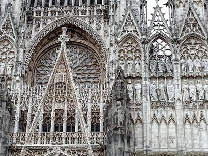 Notre Dame Cathedral Rouen  France