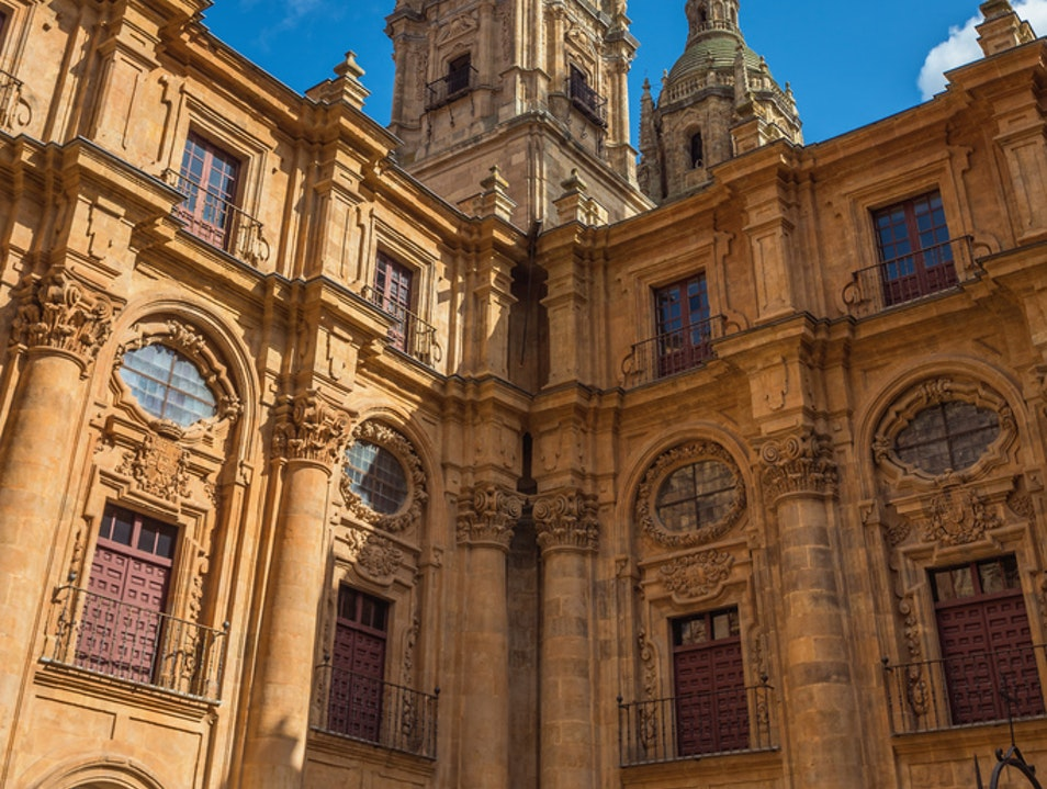 Salamanca, the Golden City Salamanca  Spain