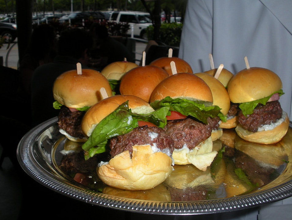 Try an Upper-Crust Burger at the Grill