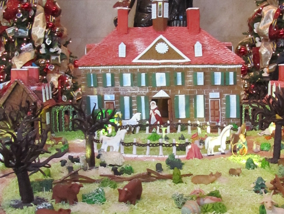 Gingerbread House at Mount Vernon Alexandria Virginia United States