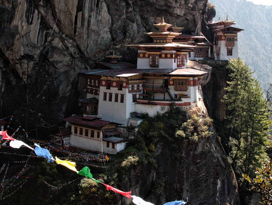 Tiger's Nest - Finally Paro  Bhutan