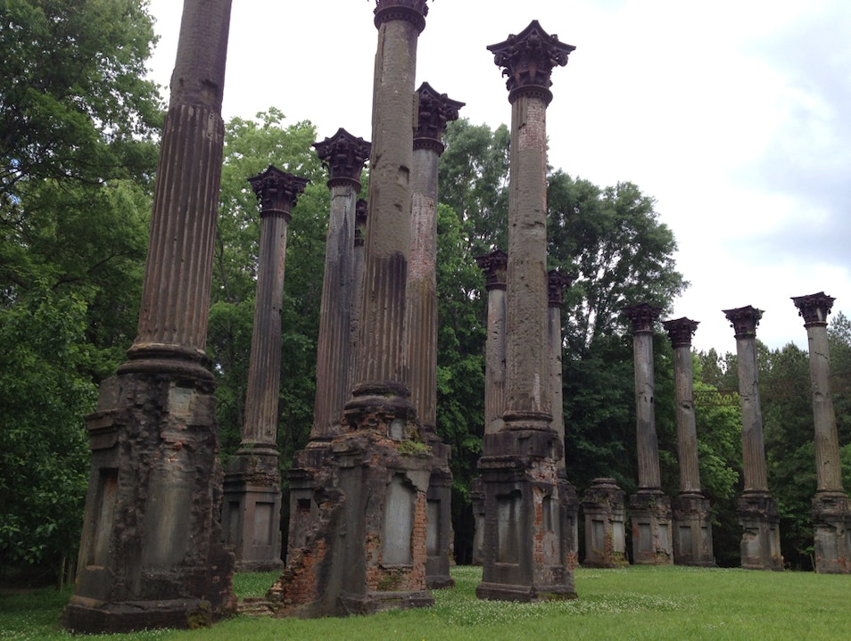Windsor Ruins Port Gibson Mississippi United States