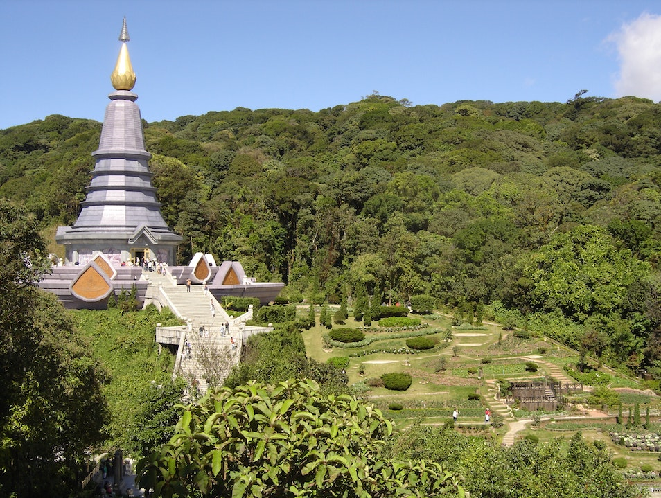 Doi Inthanon, For the Queen Chom Thong  Thailand
