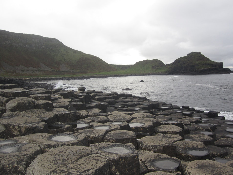 The Giant's Causeway Bushmills  United Kingdom