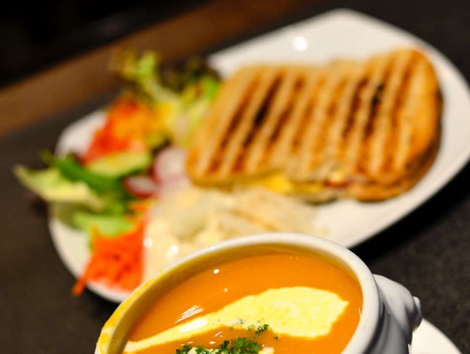 Carrots and beer soup