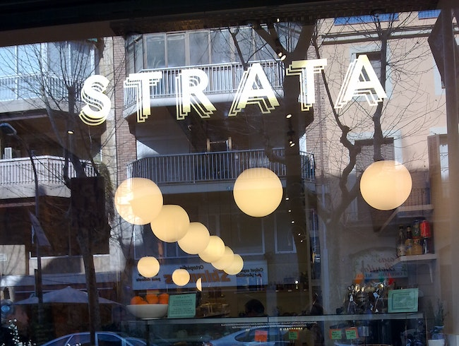 Satisfy any cravings for sweets at Strata Bakery