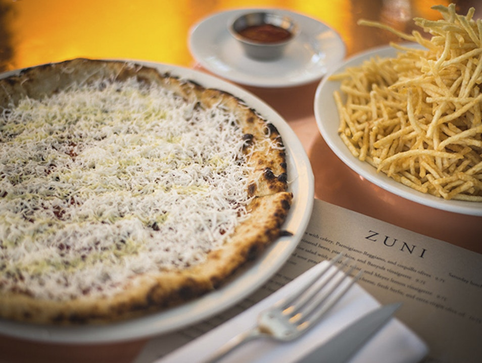 San Francisco's Iconic Zuni Cafe San Francisco California United States