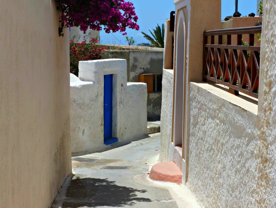 Visit the charming village of Megalochori Megalochori  Greece