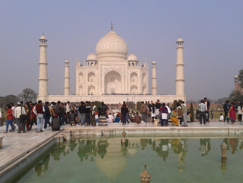 Incredible Taj Mahal Agra  India