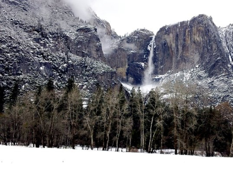 Snowy Wonderland Yosemite National Park California United States