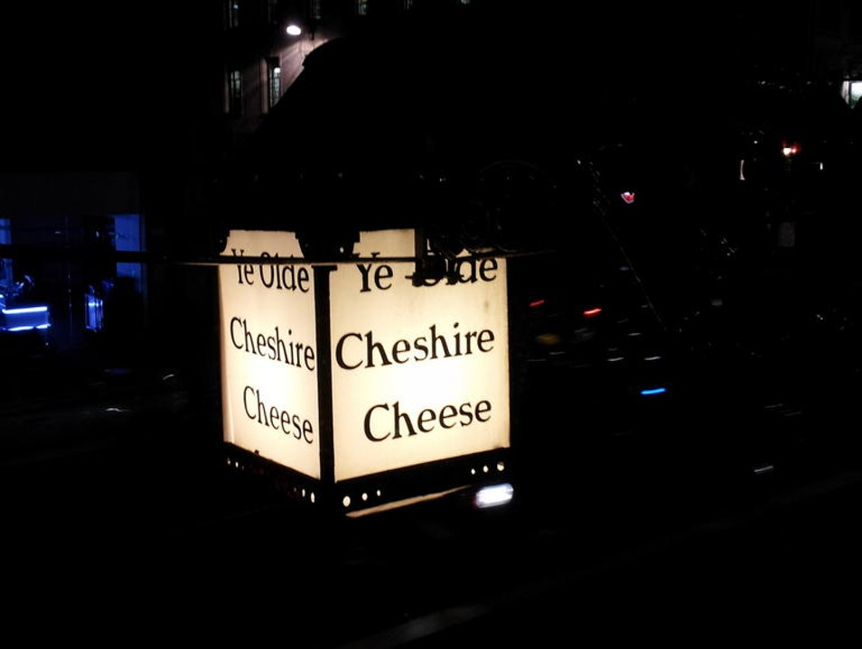The Ye Olde Cheshire Cheese London  United Kingdom